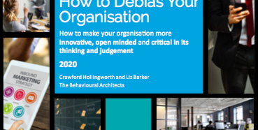 How to Debias Your Organisation